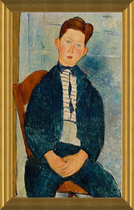 The Boy Wall Art Poster Print Amedeo Modigliani