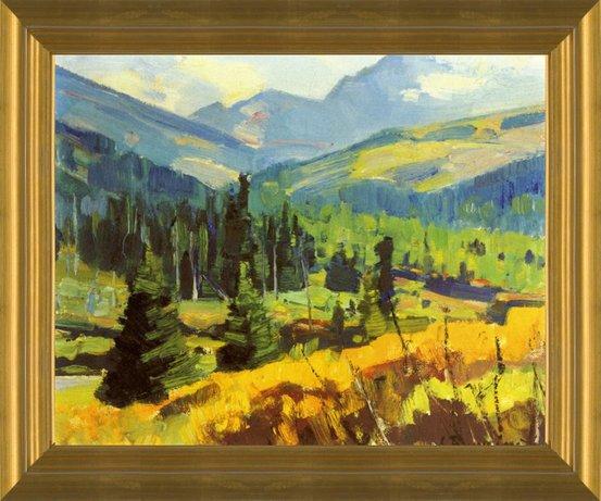 Summer Landscape by Carl Rungius   Fine Art Print
