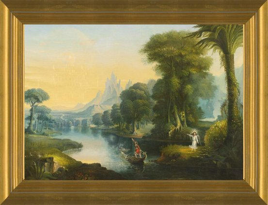 ef8f8f491d Art Prints of The Voyage of Life Youth by Erastus Salisbury Field