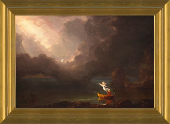 618f8fae15 Art Prints of Voyage of Life, Old Age by Thomas Cole